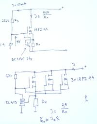 Obciazenie zasilacza ATX zarowkami 12V 45/40W (samochodowe)