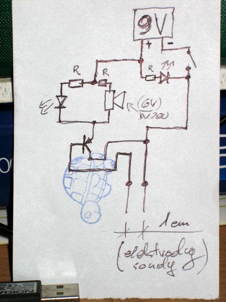 Schemat do czujnika poziomu wody - jak to zrobić?