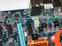 Gigabyte GA-MA770-DS3 identyfikacja kontensatorów SMD