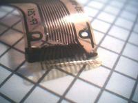 Kamera Sony CDD-F55, uszkodzona taśma połaczenia