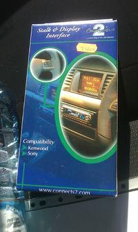 Sony Renault Thalia 2009r. Adapter LCD podłączenie
