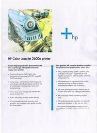 HP CLJ 2600N - problem z wydrukiem z czerwonego koloru