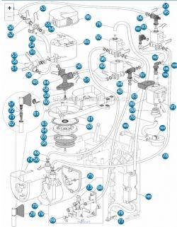 DeLonghi EC 860.M - Mrugające kontrolki, nie działa spienianie mleka