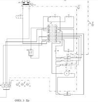 schemat instalacji elektrycznej kuchenki AMICA model G5E 3.32 ZpTaV