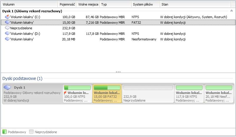 Asus EeePC R101 1001PX - Uszkodzona? partycja Windows 7 recovery