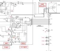 Projektor Sanyo PLC-XT25-uszkodzony zasilacz