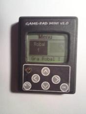 Game-Pad MINI v 1.0 Atmega8 LCD Nokia 3310 [C]