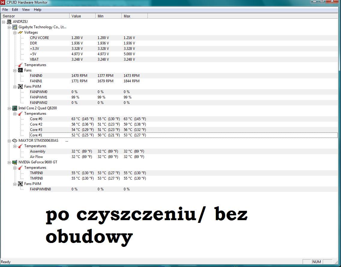 Czarny ekran podczas grania TS3