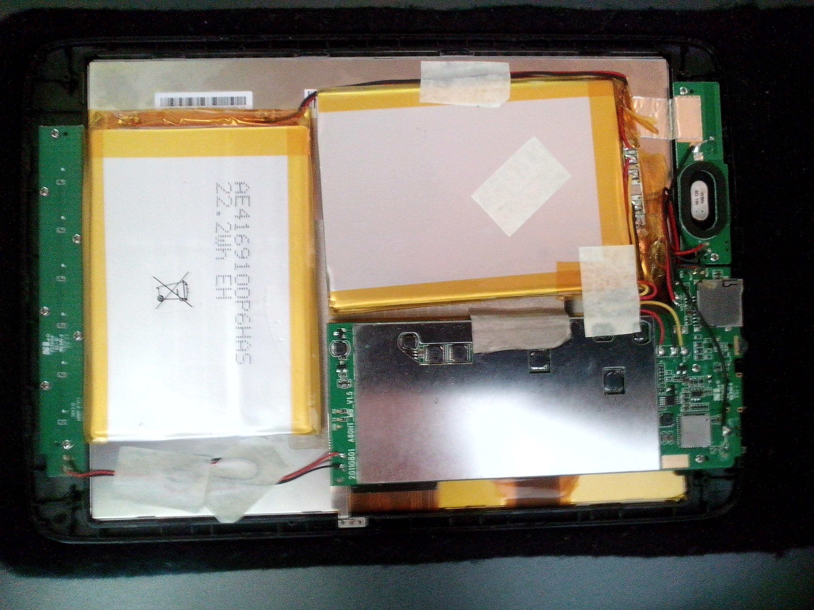 Arnova 8G2 - Tablet nie reaguje na pr�by w��czenia
