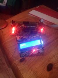 Atmega16 - odczytywanie przycisków z LCD KEYPAD SHIELD ARDUINO
