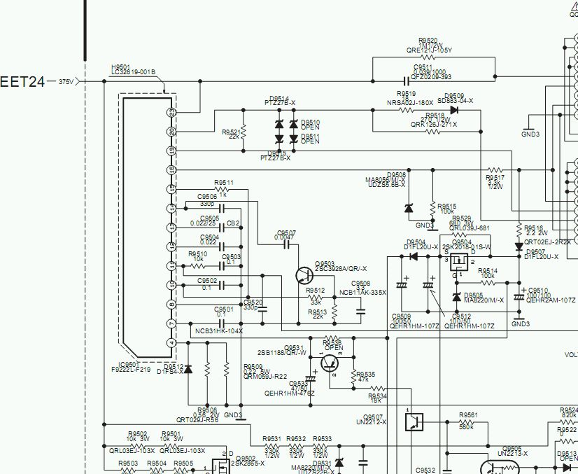 Pro�ba o schemat zasilacza CP-600 DLP32D1LPS. Oddam 100pkt