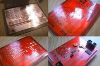 Dwustronne PCB w domu z soldermaską