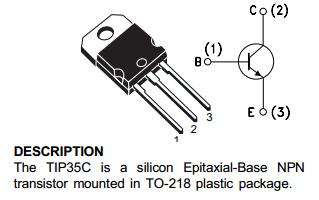 D400 Transistor Pin Diagram