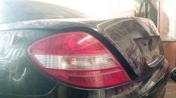 Mercedes SLK R171 - Problem z wycieraczkami i dachem