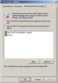 Windows 7 - Appcrash: Tomb Raider Legend