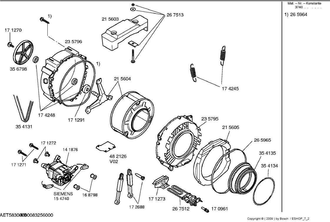 Pralka Bosch maxx 4 WFC1600 - wymiana �o�ysk