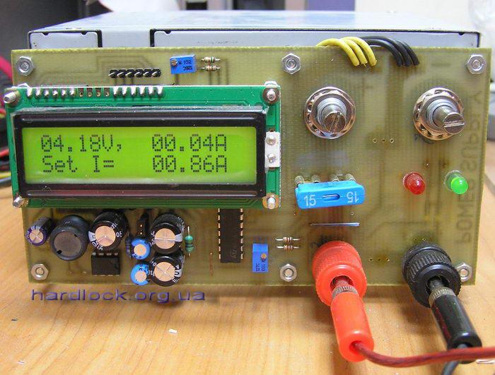 Impulsowy zasilacz 3-20V; 0,1-10A