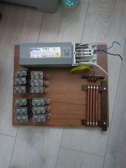 Kolejny Klasyczny Transformator Tesli SGTC na iskrowniku statycznym