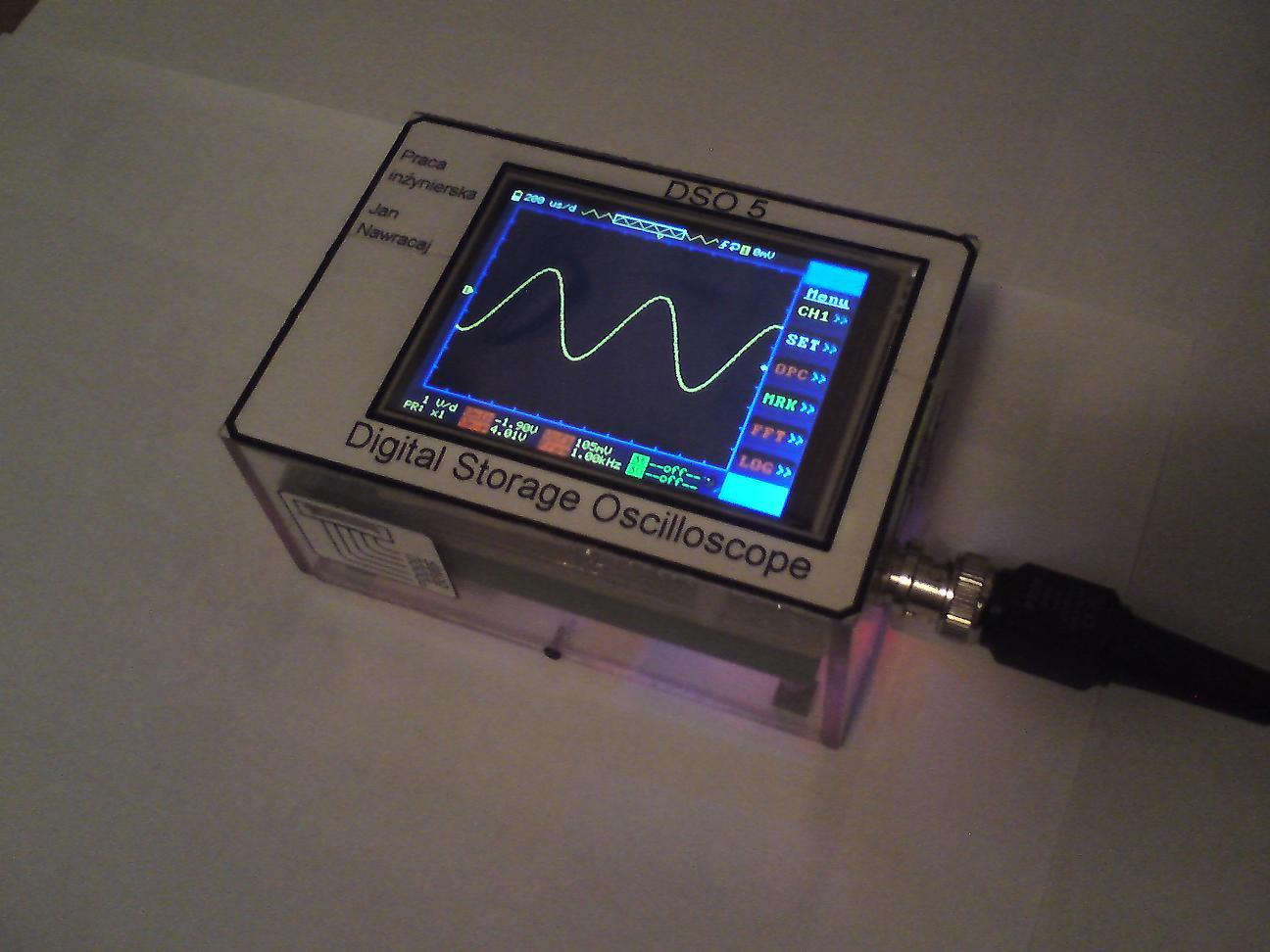 DSO5 - Przeno�ny oscyloskop z analizatorem logicznym