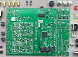 Lutowanie podzespołu (cewki) YIC25.000F9 na płytce z systemu blitzortung