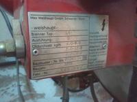 Schemat elektrycznego podłaczenia starszego palnika olejowego weishaupt