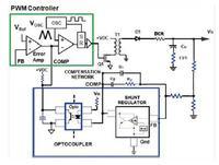 Izolowany wzmacniacz b��du w stabilizowanych przetwornicach AC/DC oraz DC/DC