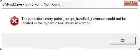 Windows 7 Professional SP1 + msvcrt.dll = b��d aplikacji