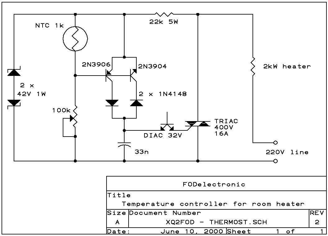 Prosty termostat na triaku, czy mo�na zmieni� charakterystyk� jego pracy?
