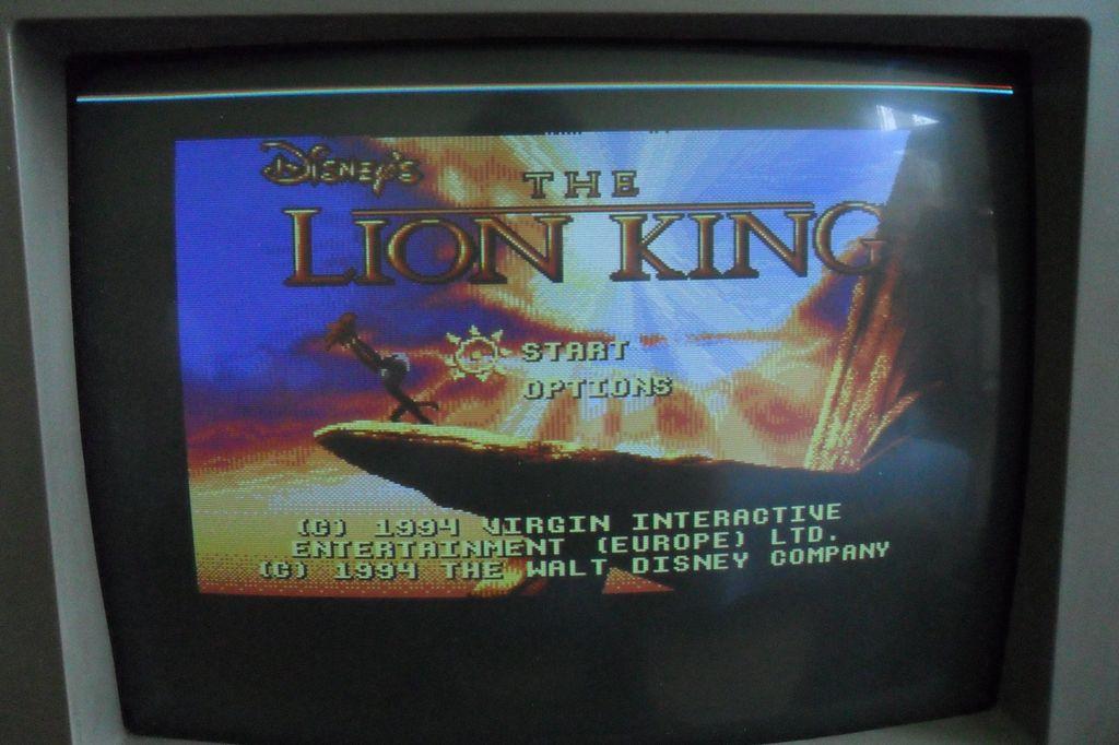 CM -322 AMI - Czerwona linia na g�rze ekranu i regulacja obrazu