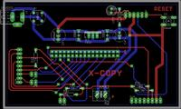 AVR X-Copy Final Step ;) Amiga Floppy Disk Reader