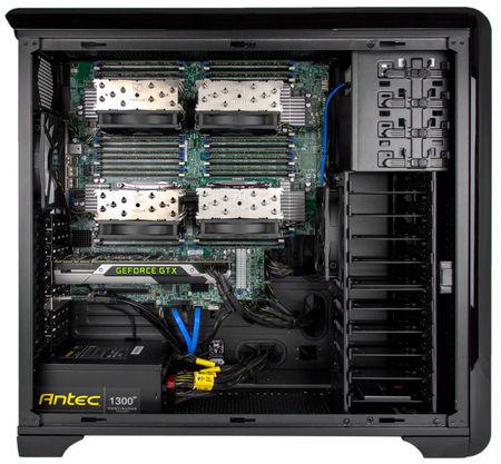 Puget prezentuje dwa nowe komputery zdolne obs�u�y� 4 procesory