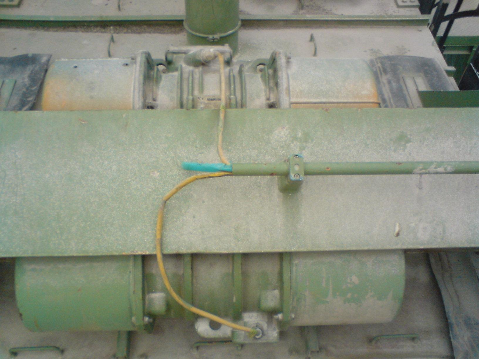 Przesiewacz do piachu-wymiana silnika 11kW na 3* 4kW