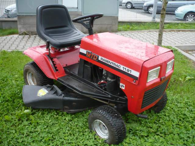 Traktorek kosiarka Rasentrac 11-81, silnik Briggs, kilka pyta�.