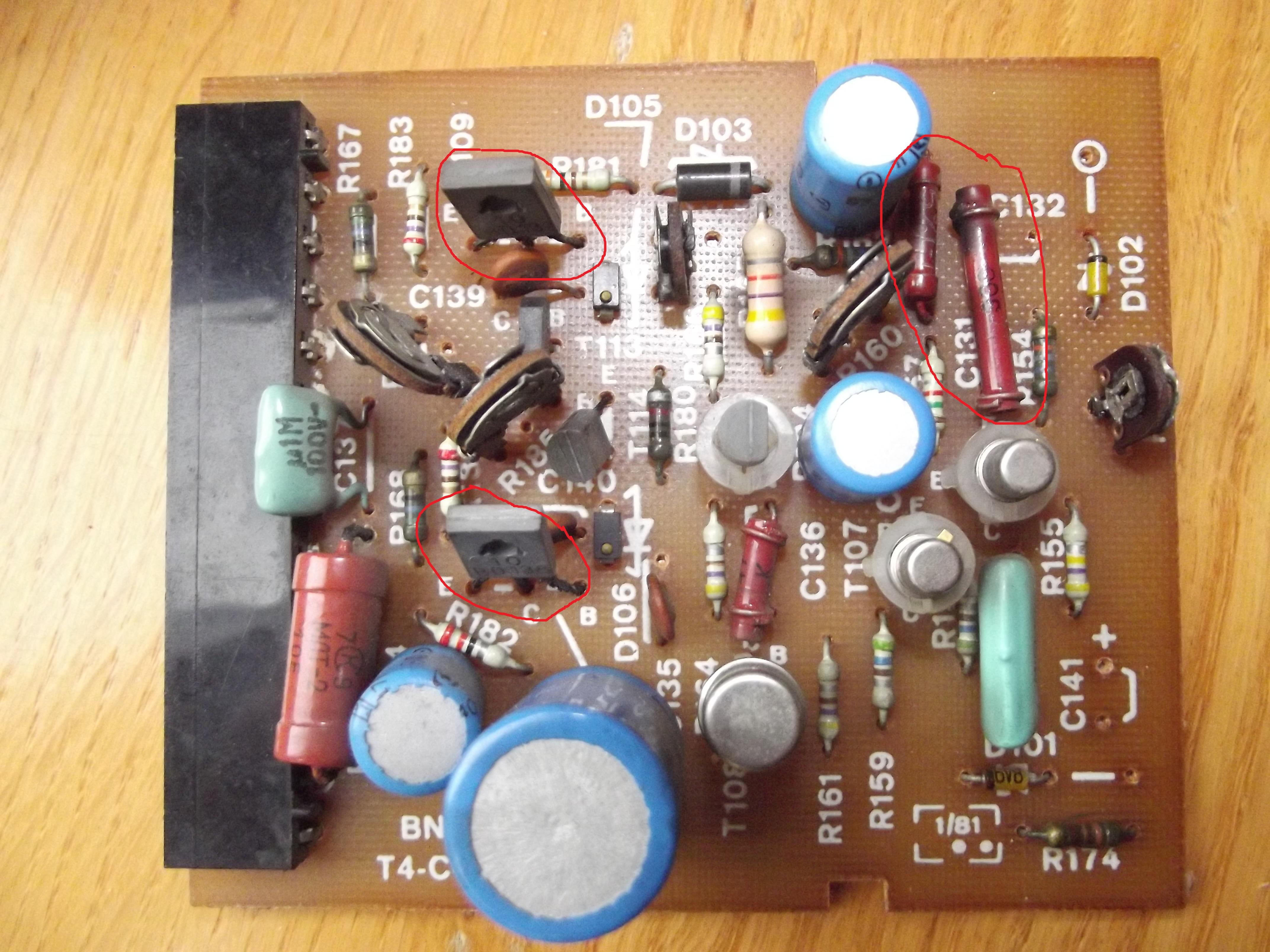 WS-303. Tranzystory i zamienniki.