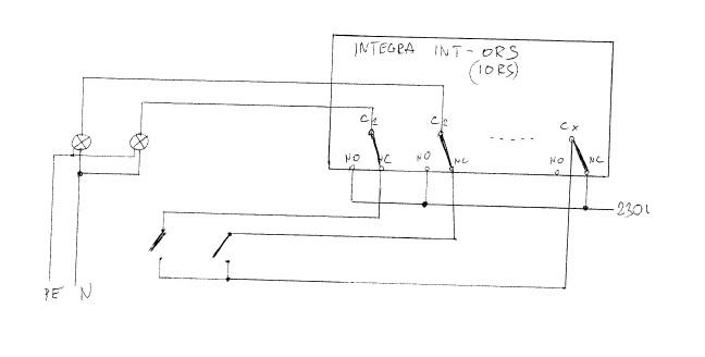 Sterowanie �wiat�em i roletami - ekspander INT-ORS satel