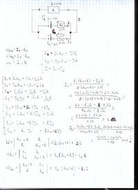 Obliczanie nat�e� pr�d�w na ogniwach - elektrotechnika