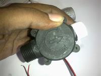 Generator prądu zamontowany w kranie