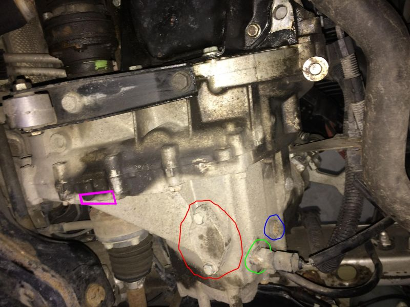 Skoda Fabia 1.4 mpi 68km 2002 - Problem - Fabia I oil change in the gearbox