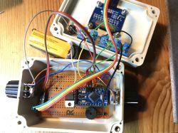 Gra PONG na Arduino Pro Mini