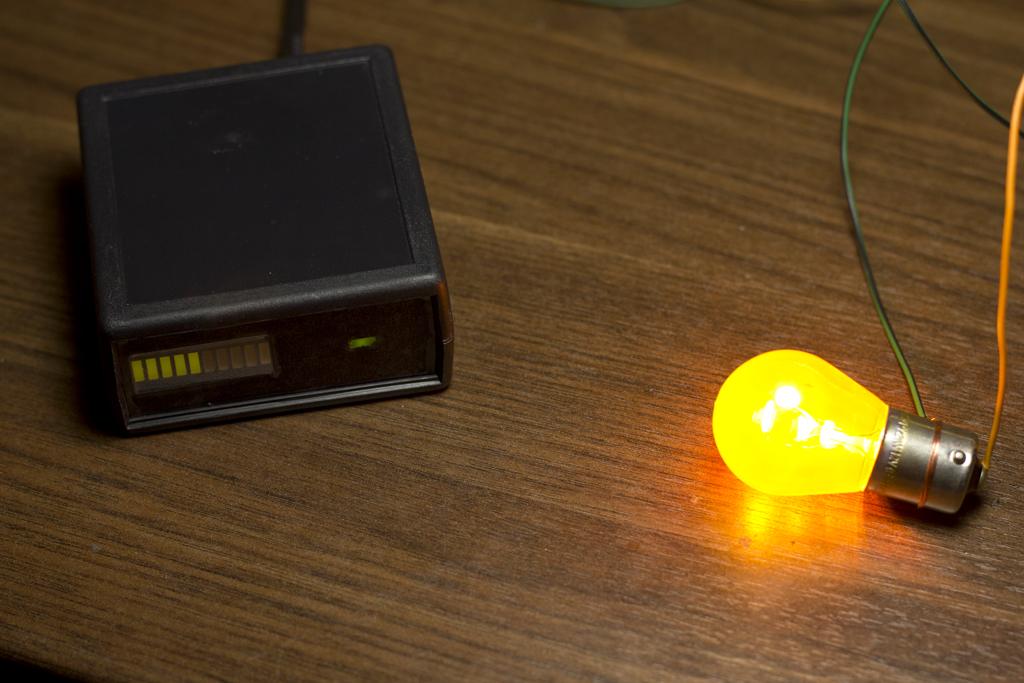 Generator PWM na Atmega8 z linijk� LED