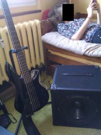 Kolumna do gitary basowej 150W