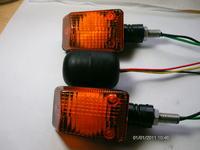 Motocyklowe kierunkowskazy LED plus przerywacz.