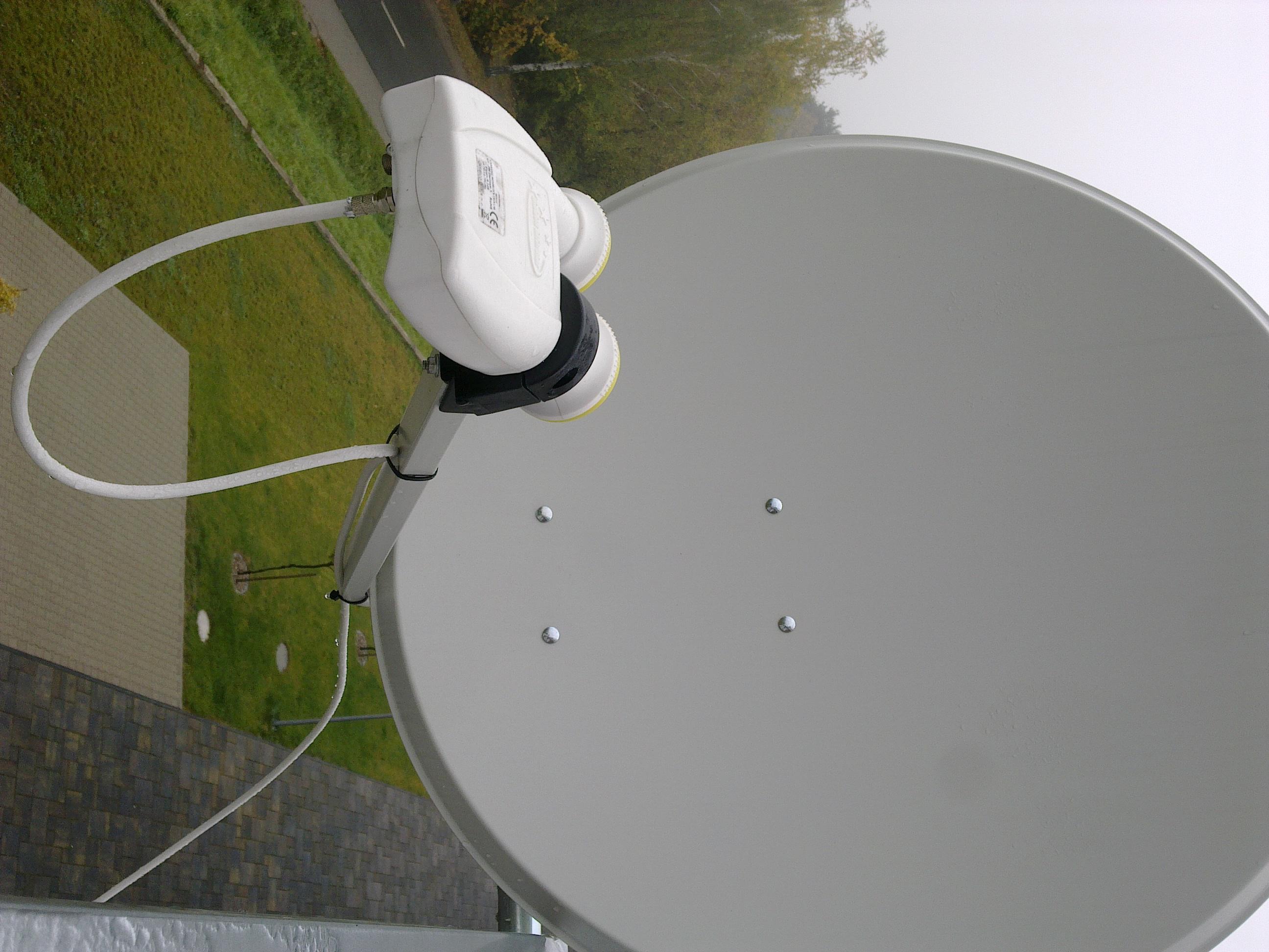 Instanacja DVB-T + SAT oparta na jednym kablu na 3 odbiorniki
