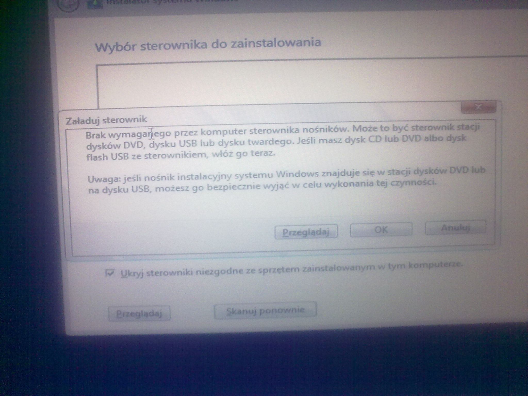 T61p - B��d przy instalacji windows 8 oraz bios