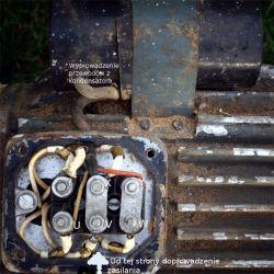 SZJF Oe 24b 1.1kW - jednofazowy, jaki kondensator ?