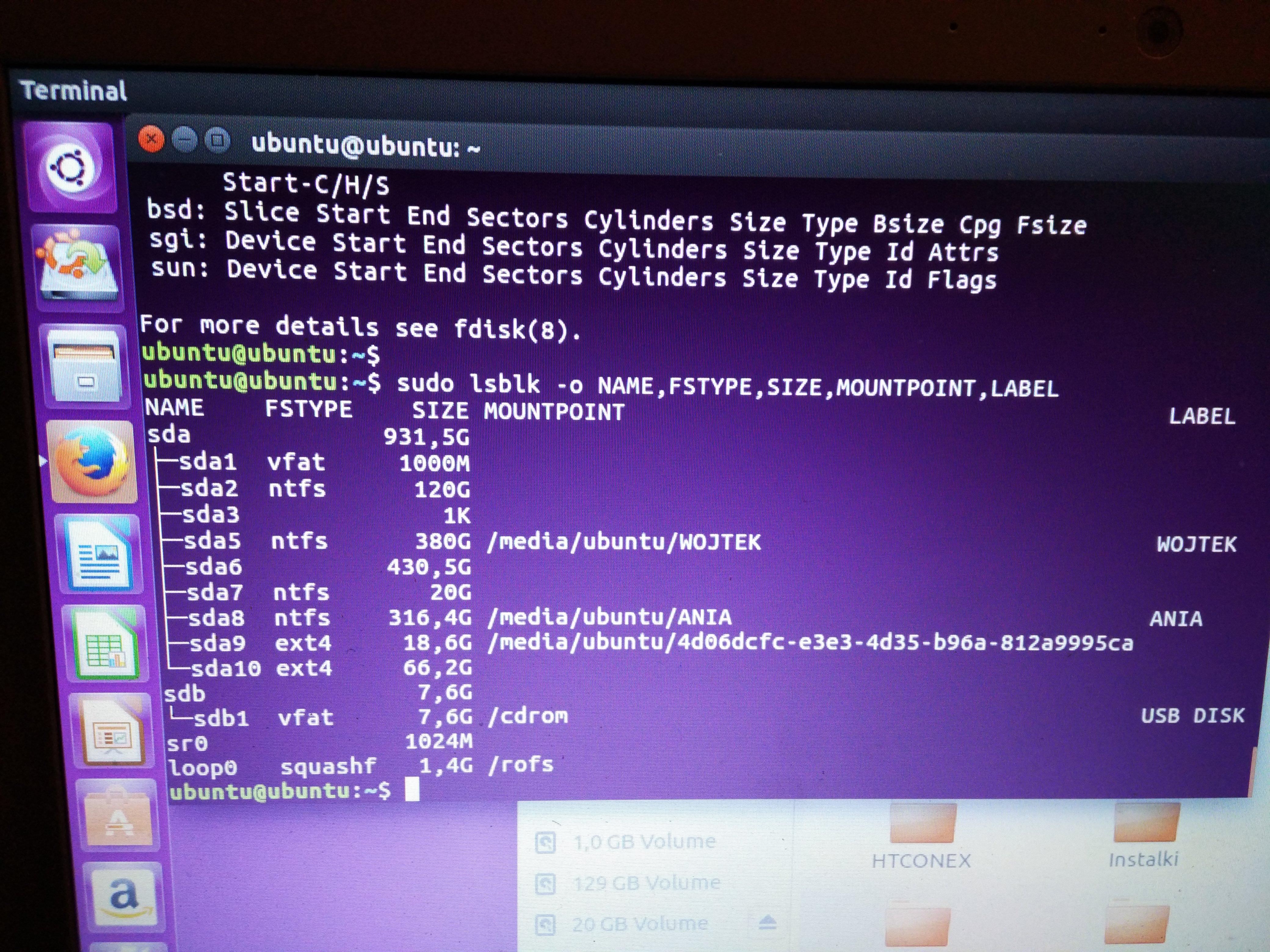 Przywrócenia bootowania Windows - grub rescue - unknown