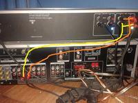 Zmiana z MD na TAPE amplituner Kenwood krf-V5100D