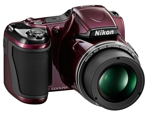 Nikon Coolpix L820 - aparat z 30x zoomem optycznym