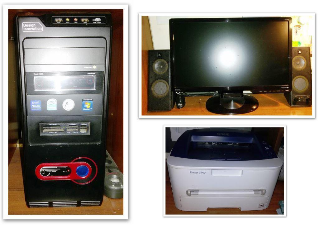 [Sprzedam] Kompletny zestaw komputerowy PC+Monitor 20'+Drukarka Laser