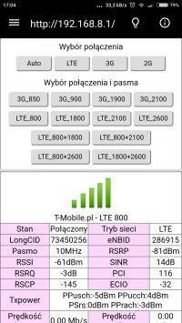 Z neostrady na LTE tmobile